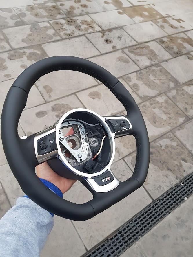 Kit Gentleman Leather + Aerografo Vs Volante Audi TTs  8