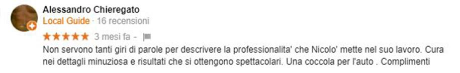Recensione Alessandro Chieregato