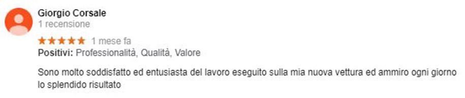 Recensione Giorgio Corsale