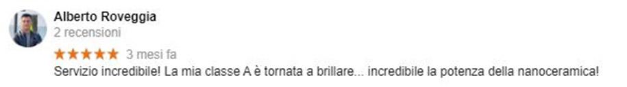 Recensione Alberto Roveggia