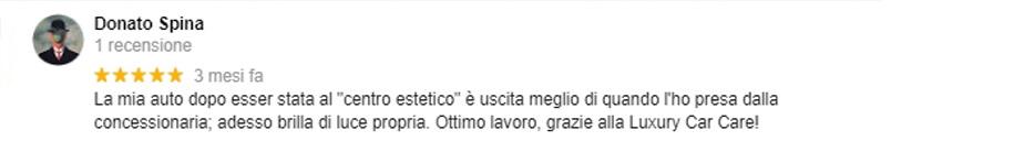 Recensione Donato Spina